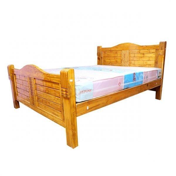 Wooden Nigerian Teakwood Cot