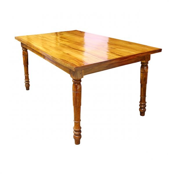 Wooden Dining Table with four chairs
