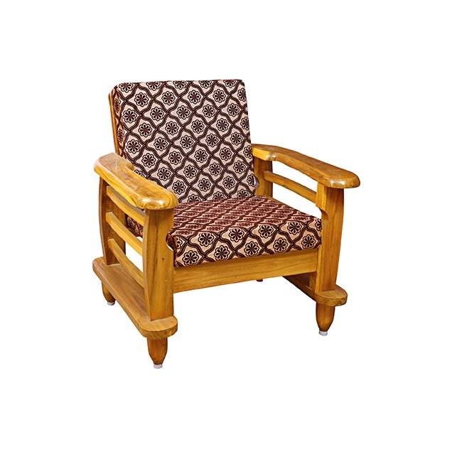Traditional Teakwood Sofa Set With Cushion Sri Ganesan Furniture