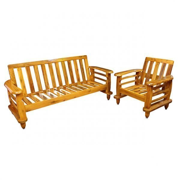 Wooden Sofa Set with Cushion