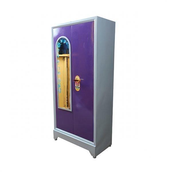 """Steel Almirah 36"""" violet"""