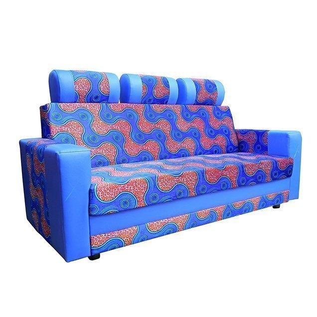 sofa-three-seater blue