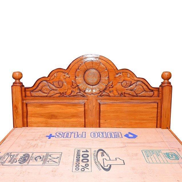 Wooden teakwood cot