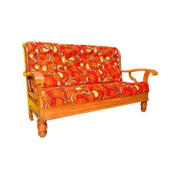 Nigerian Wooden sofa set with Cushion sets