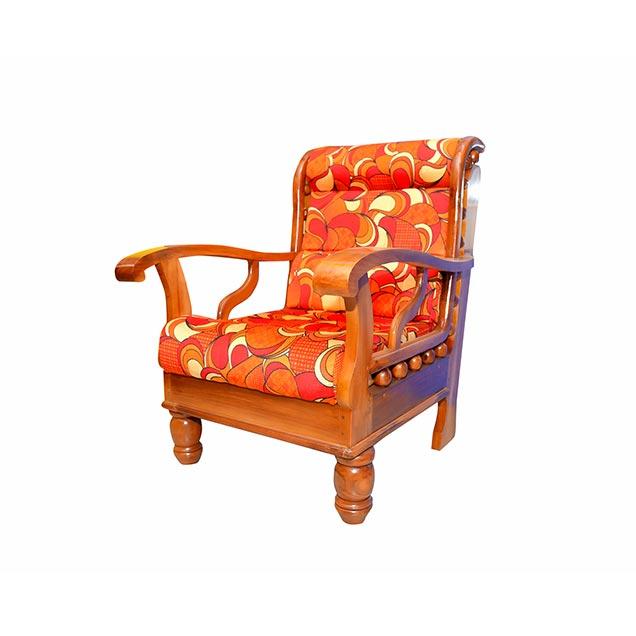 Nigerian Wooden sofa set with Cushion