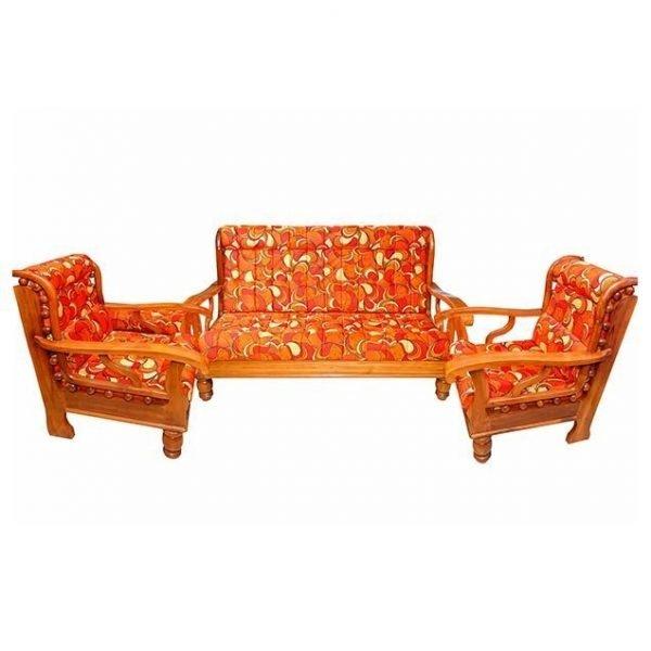 Nigerian Wooden sofa set